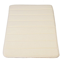 Memory Foam Bath Bathroom Bedroom Floor Shower Mat Rug Non-slip Water Absorbent Beige
