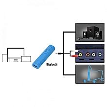 Sports Wireless Bluetooth Headphones Audio Receiver Adapter For 3.5mm Earphones Black