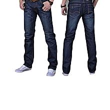 56532b2b90d1 Grace Mens Casual Plus-size Comfortable Cotton Denim Slim-fit Straight Long  Simple Jeans