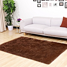 Fluffy carpet - Brown in colour - Size 5 x 7