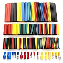 506Pcs Car Wire Connector Electrical Kit - 328 Heat Shrink Tubing & 178 Terminal