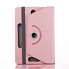 360 Degree Rotating 7 Inch Tablet PC Computer Leather Case Cover pink