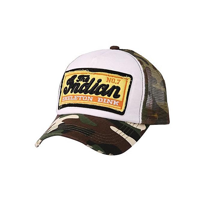 Zetenis Ponytail Baseball Cap Women Men Baseball Hat Snapback Sun Sport Caps -Camouflage e5945b8fc2f