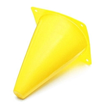 """1PCS 7"""" Witches Hat Agility Cones Football Soccer Sports Drill Markers Slalom Yellow PVC"""