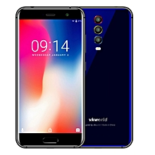 VKworld K1, 4GB+64GB, Triple Back Cameras, Face ID & Fingerprint Identification, 4040mAh Battery, 5.2 inch Android 8.1 MTK6750T Octa Core up to 1.5GHz, Network: 4G, Dual SIM(Blue)