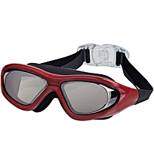 Large Frame Swimming Goggles for Men and Women Swimming Goggles Waterproof and Fog-proof Diving