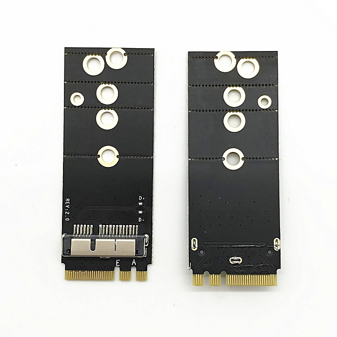 BCM94360CS2 BCM943224PCIEBT2 BCM94331CSAX BCM94331CD BCM94360CS BCM943602CS  Wireless Card to NGFF M 2 Key A/E Adapter for Mac OS( )