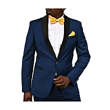 Men's Royal Blue Slim Fit Dinner Wedding Tuxedo Suit