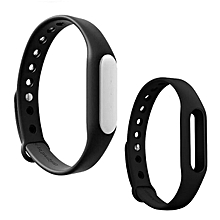 Mi Band 1S Smart Bracelet + Replacement Wristband - Black+Black