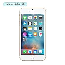 OR 5.5inch Smartphone Fingerprint 16GB ROM HD Camera Phone For iPhone 6Splus-golden-EU plug