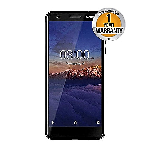 "3.1 - 5.2"", 16GB, 2GB RAM, 13MP Camera (Dual SIM) Black"