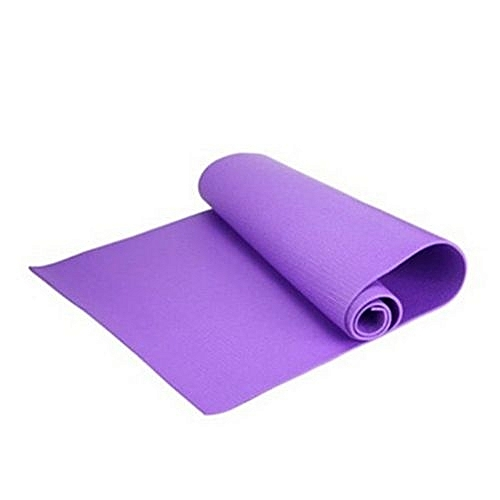 6mm Thick Non-Slip Yoga Mat Exercise Fitness Lose Weight 173cmX60cmX0.6cm
