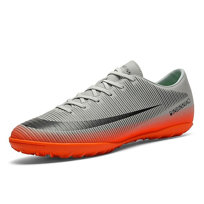 Generic Men s Outdoor Soccer Shoes Turf Indoor Soccer Futsal Shoes ... f4ffaae2ce