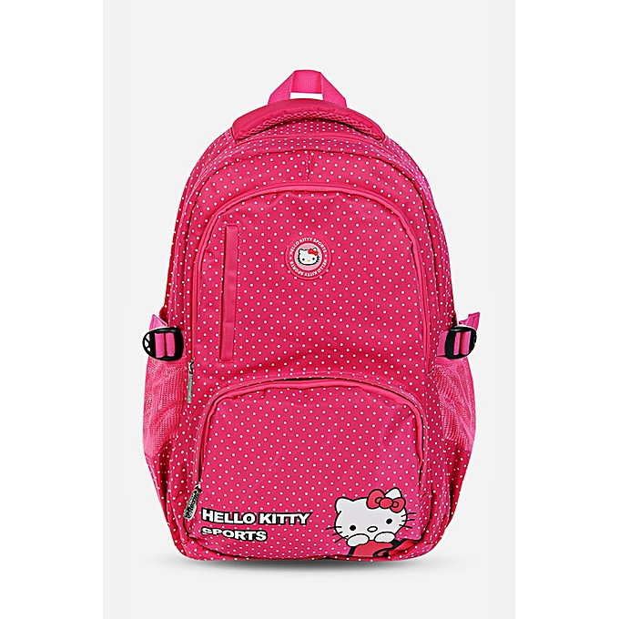 5d99e07171 Hello Kitty Cute Style Multifunction Backpack Kid Girls Schoolbag Sport  Bag SMALL DOT