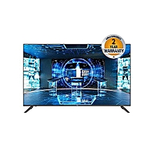 "Haier - 43"" - FHD SMART TV - Black - black"