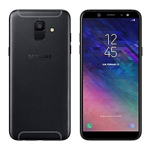 "Galaxy A6 Plus - 6"" - 32GB - 3GB, 16MP+5MP Dual Camera (Dual SIM) 4G - Black"