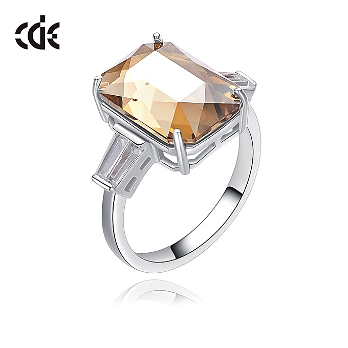 Crystal Enement Rings | Buy Fashion The West Dai Er Adopts The Swarovski Chemical Element