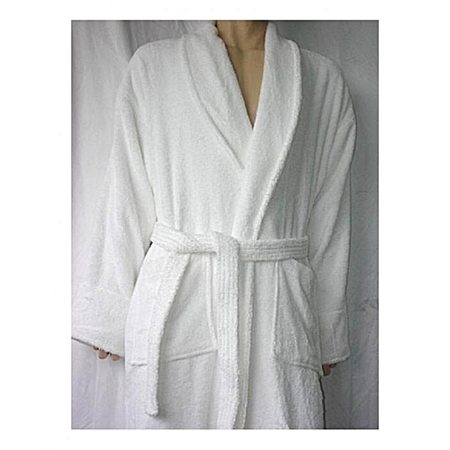 Large Bathroom Robes White