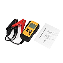 AE300 12V LCD Digital Car Battery Analyzer Automotive Vehicle Tester Yellow