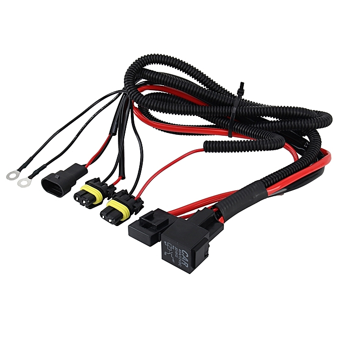 DC 12V 40A 9006 Bulb Strengthen Line Group HID Xenon Controller Cable Relay Wiring