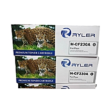 RYLER HP CF230A - LaserJet Toner Cartridge - Black