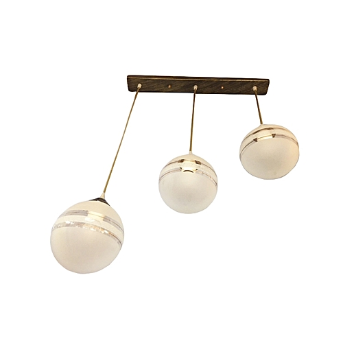 Buy Kenya Lampshades Contemporary 3 Pendant Dining Light
