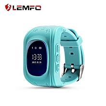 LEMFO Q50 Pedometer GPS Tracker Watch Anti-lost  Kid Safe Smart Watch Location Finder Monitor Baby Wristwatch
