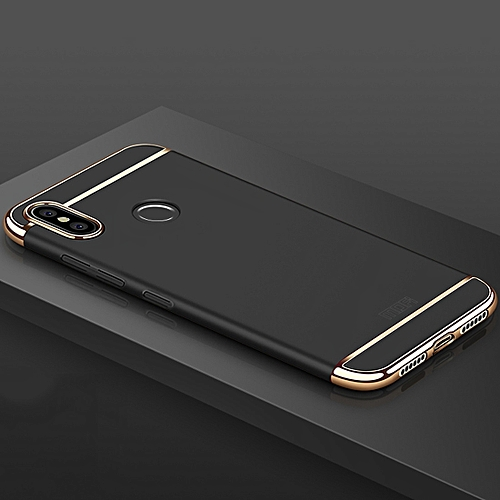 watch f650b 92366 MOFI Three Stage Splicing PC Case for Xiaomi Redmi 6 Pro(Black)