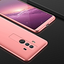 GKK Three Stage Splicing Full Coverage PC Case for Huawei Mate 10 Pro (Rose Gold)