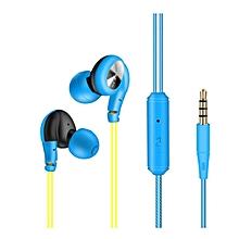 FONGE S800 Stereo In-Ear Earphone Wired Headphones Ear Hanging Headphones