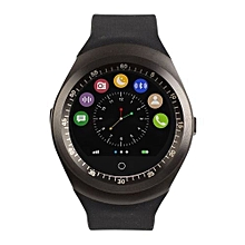 Y1 Smart Phone Watch -( MTK6261) - Bluetooth 3.0 280mAh - Black