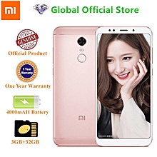 Smartphone Redmi 5 Plus Android 5.99-Inch 3+32GB (12MP+5MP) 4000mAh-Pink