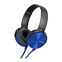Extra Bass Headphones - Blue