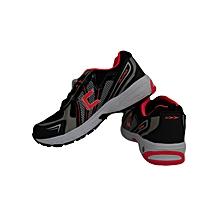 Training Shoes- Eco-10white/Black/Flo Red- 8