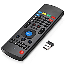 TK617 2.4G Wireless Full Keyboard Air Mouse Remote Control For Smart TV / Android Box / TV Dongle / Smart Phone / Tablet PC