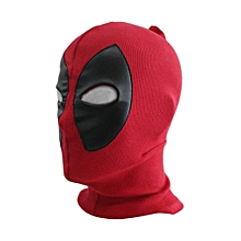 Breathable Halloween Cosplay Full Face Mask Adult Kids Knitted Face Mask