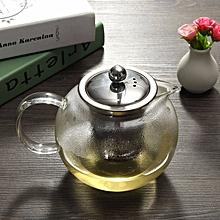 950ml Heat Resistant Glass Teapot Stainless steel Infuser&Lid Tea Herbal Pot