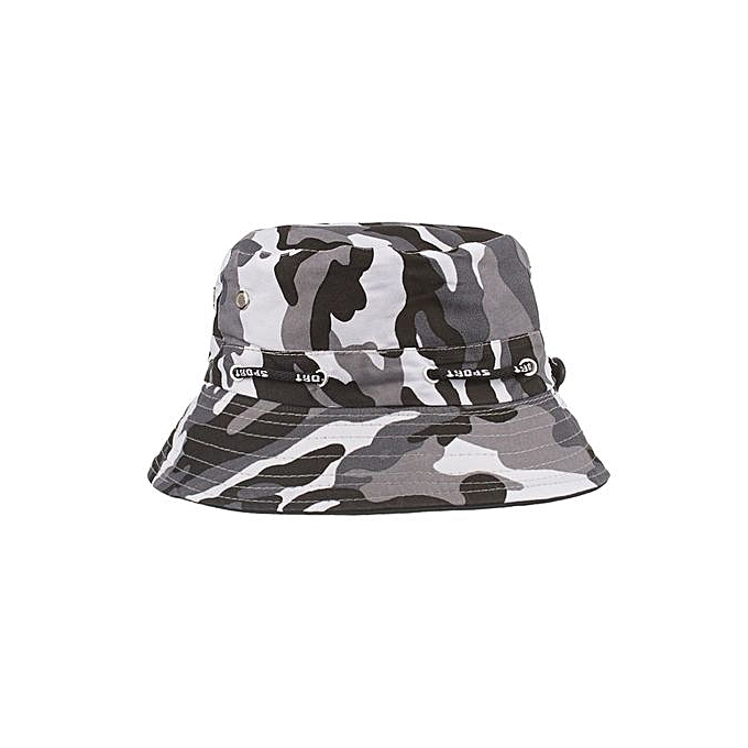 b470d872246 Adjustable Cap Camouflage Boonie Hats Nepalese Cap Army Mens Fisherman Hat