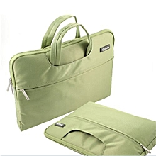 """15"""" Hand Bag, Fashion Waterproof Laptop Sleeve PorTablet For 15.4"""" Inch Macbook Acer Lenovo All Notebook, Green"""