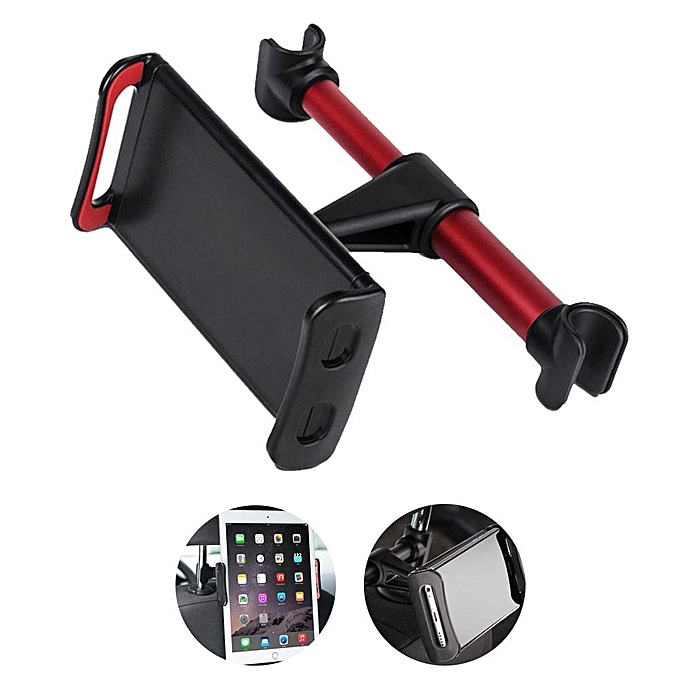 360 Degree Rotating Car Seat Headrest Mount Universal Holder For 4 To 11 Inch Smartphones