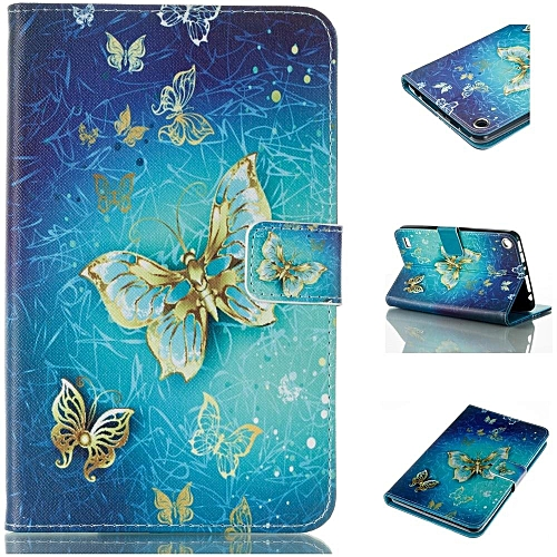Fire 7 2017 Case,Amazon Fire 2017 Case,Kindle Fire 7 7th Generation  Case,Fire HD 7 Tablet Case 2017,Premium PU Leather Smart Case and Back  Cover Flip