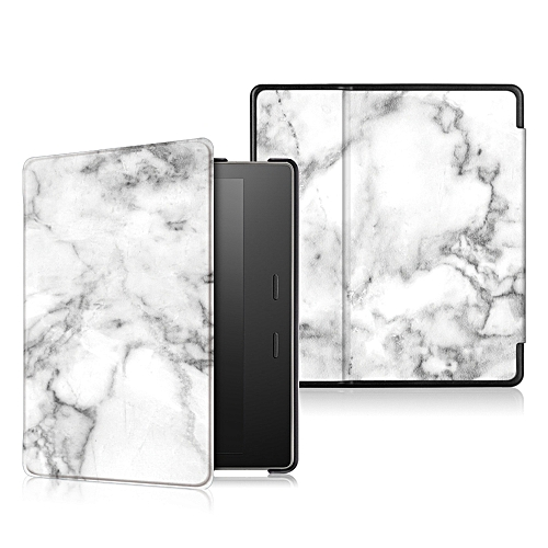 PU+PC Marble Protective Sleeve With Sleep Function For Kindle 0asis 7 Inch  Ebook Reader