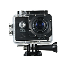 "Action Camera 4K 16M WiFi Sports Camera 170~ Wide Angle Underwater 30M Waterproof Sports Camcorder with 2"" LCD Rechargeable Mini Cam (Package 3)"