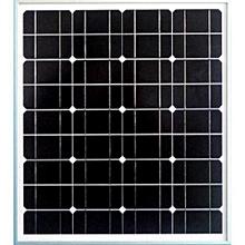 50 Watts 12 Volts  Mono Crystalline Solar Panel