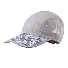 Summer Sun Trekking Sports Quick-drying Breathable Baseball Sports Caps(Grey)