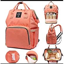 Portable Baby Diaper Bag for Travel - orange