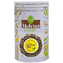 Orthodox green tea in a Tin Caddy (200g)