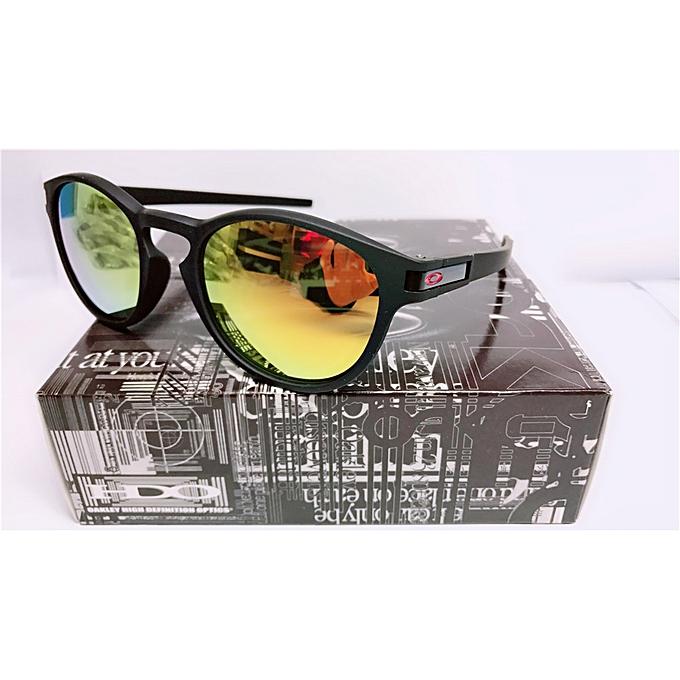 a25e5b85ac Oakley CUSTOM LATCH SUNGLASSESOO9265 Matte Black Ruby Lens   Best ...