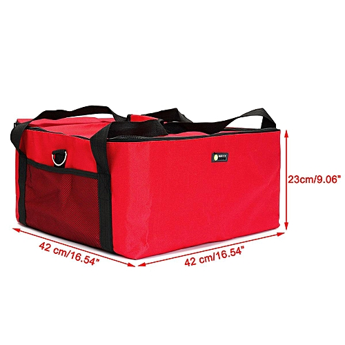 d67f1113ef2a Generic Insulated Thermal Pizza Food Pizza Delivery Bag 42 42 23cm