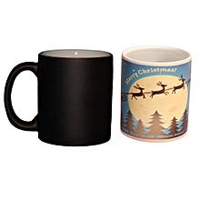 Heat Reactive Magic Mug - Black